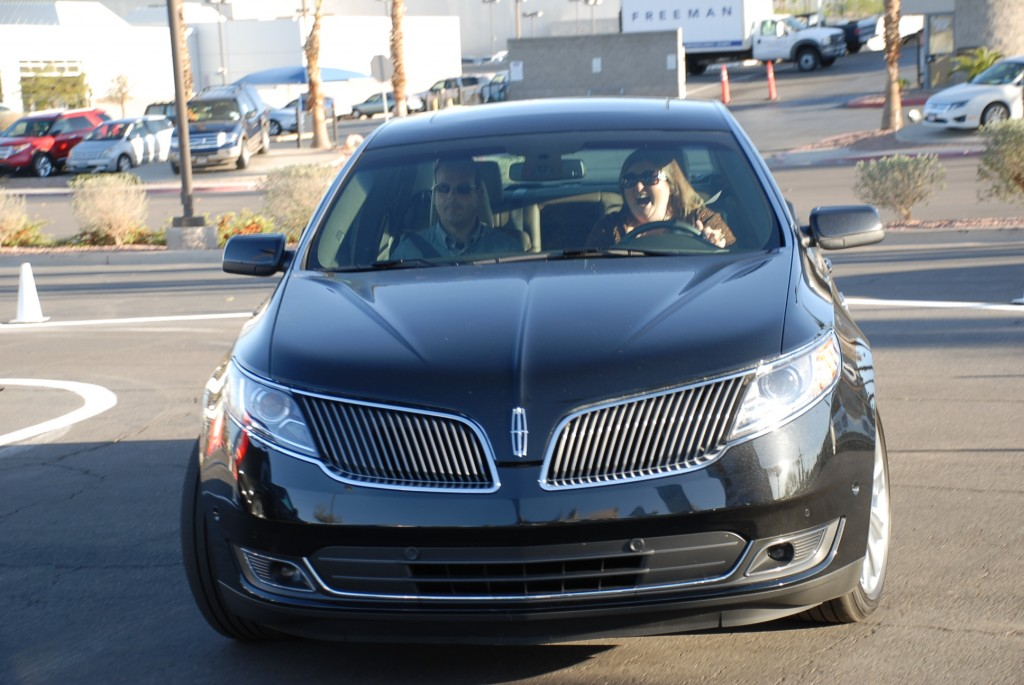 Everyone had fun testing the new 2013 Lincoln MKS & MKT