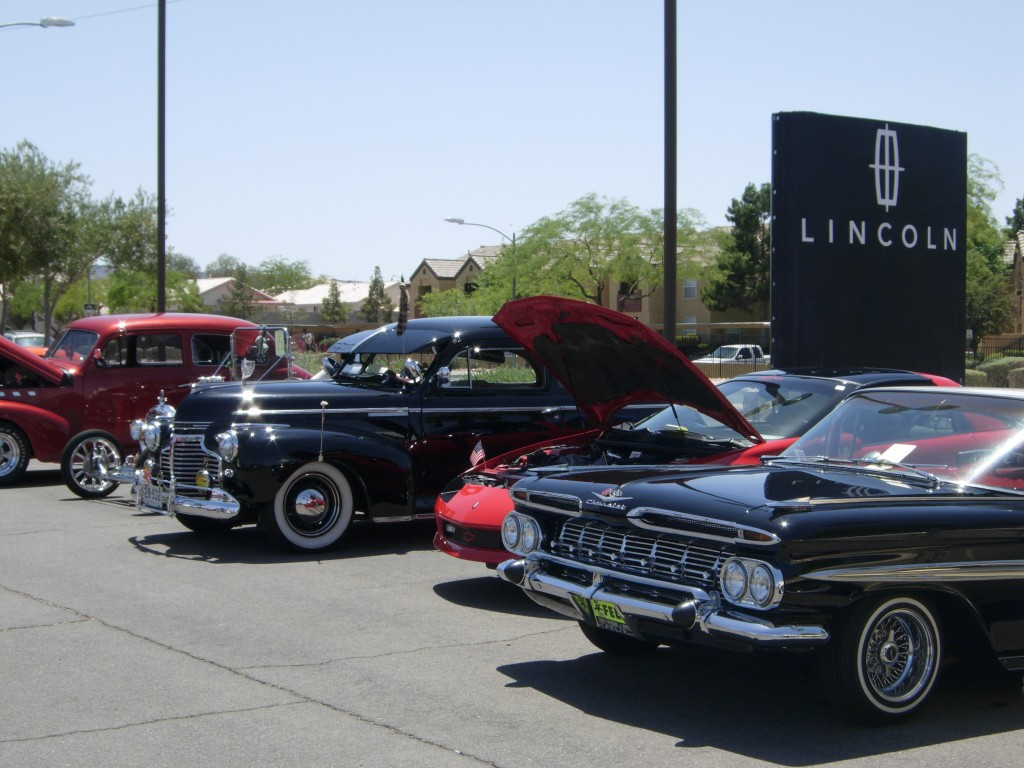 Findlay Lincoln Car Show